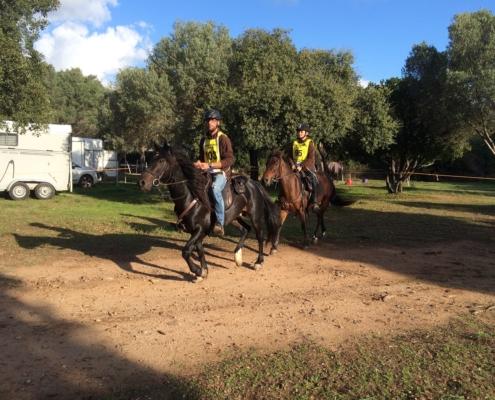 Endurance Ste Lucie Porto Vecchio 16 oct à Zappa Horse